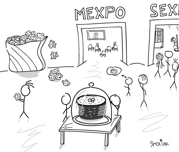 Čo ma zaujalo na MEXPE
