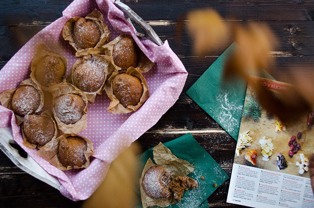 Tekvicové muffiny