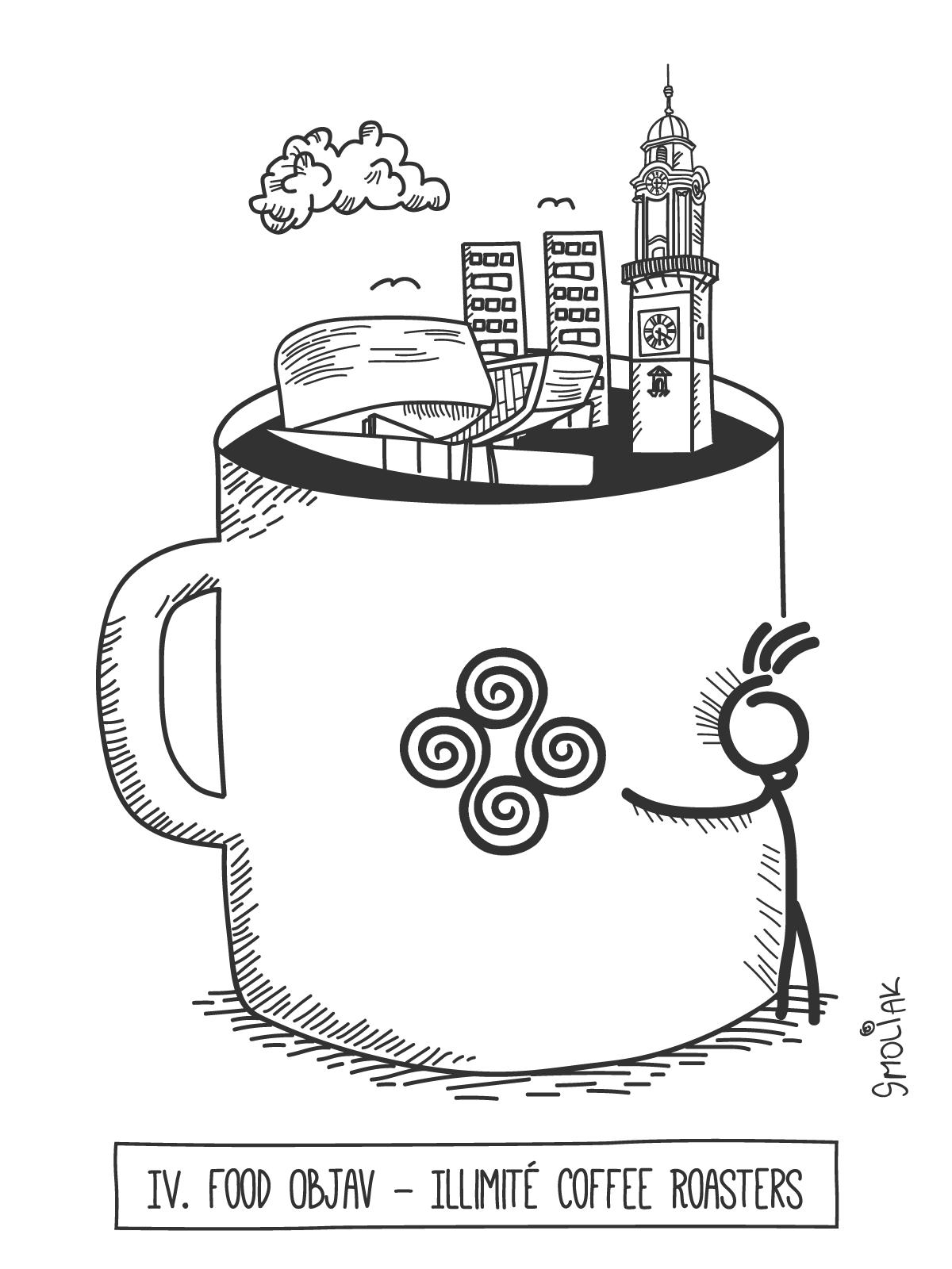 Illimité coffee roaster - Káva