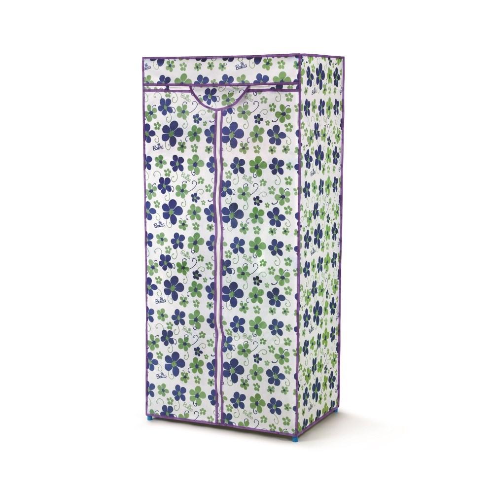 8d44401e0939 Bonita Textilná šatníková skriňa LUSH modrá - Smoliak.sk