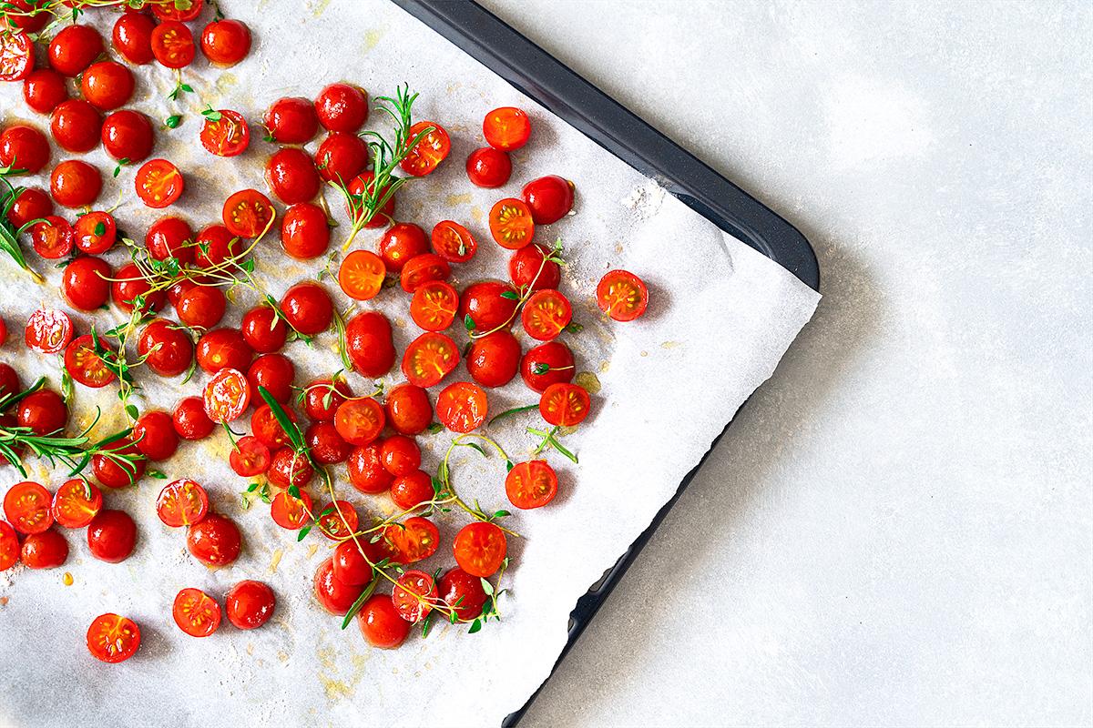 Sušené cherry rajčiny
