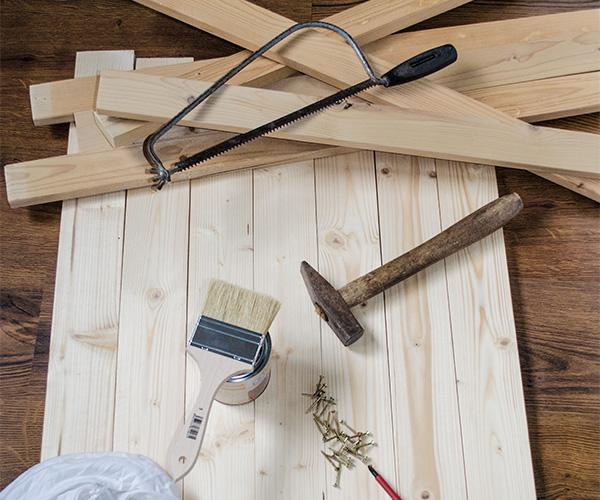 Vyrobte si stolek s nádechem starých časů