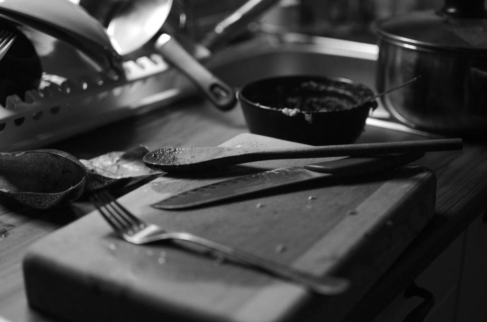 Foodbloging ako čierno-biele fotografovanie