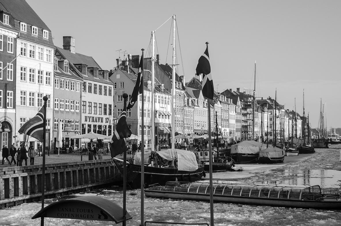 Kodaň - čo by to bol z atrip, keby ste si neodfotili v kodani prístav? :)