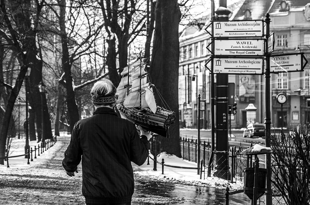 Krakow - Moment s ľodou, ktorý jednoducho nevymyslíš