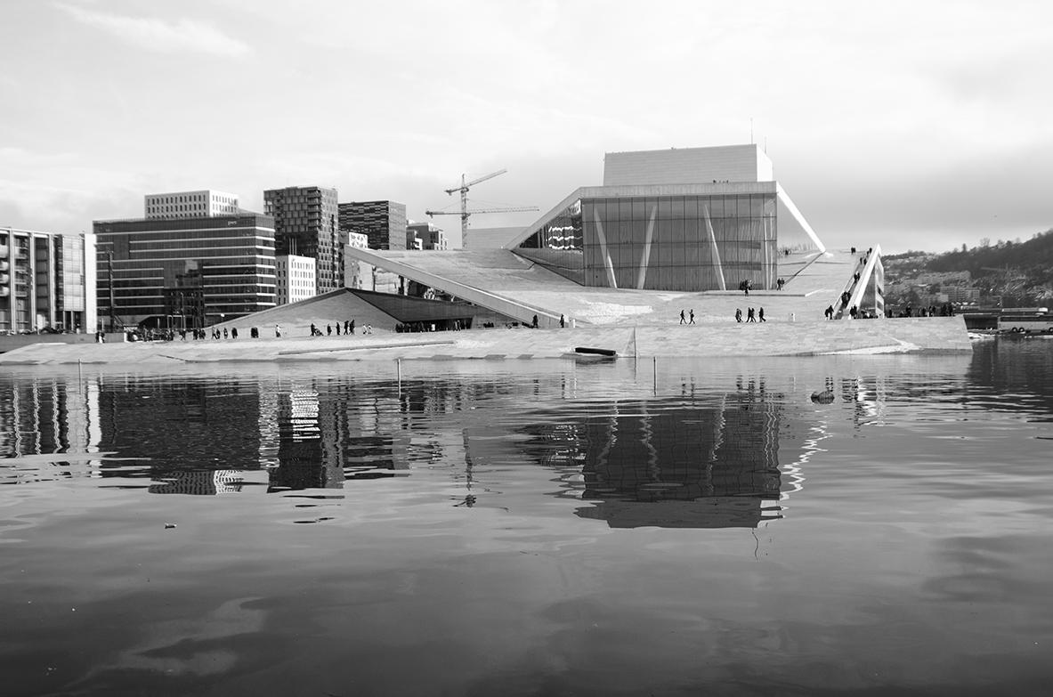 Oslo - Pre mňa jedna z najzaujímávejších operných budov vôbec.