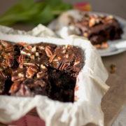 Recept: Čokoládové brownie s pekanovými orechmi