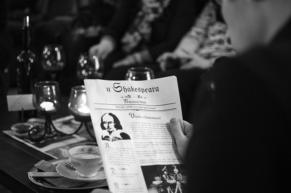 FoodObjav: Kaviareň Shakespear (Žiar nad Hronom)