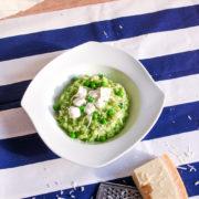 Recept: Hráškové rizoto