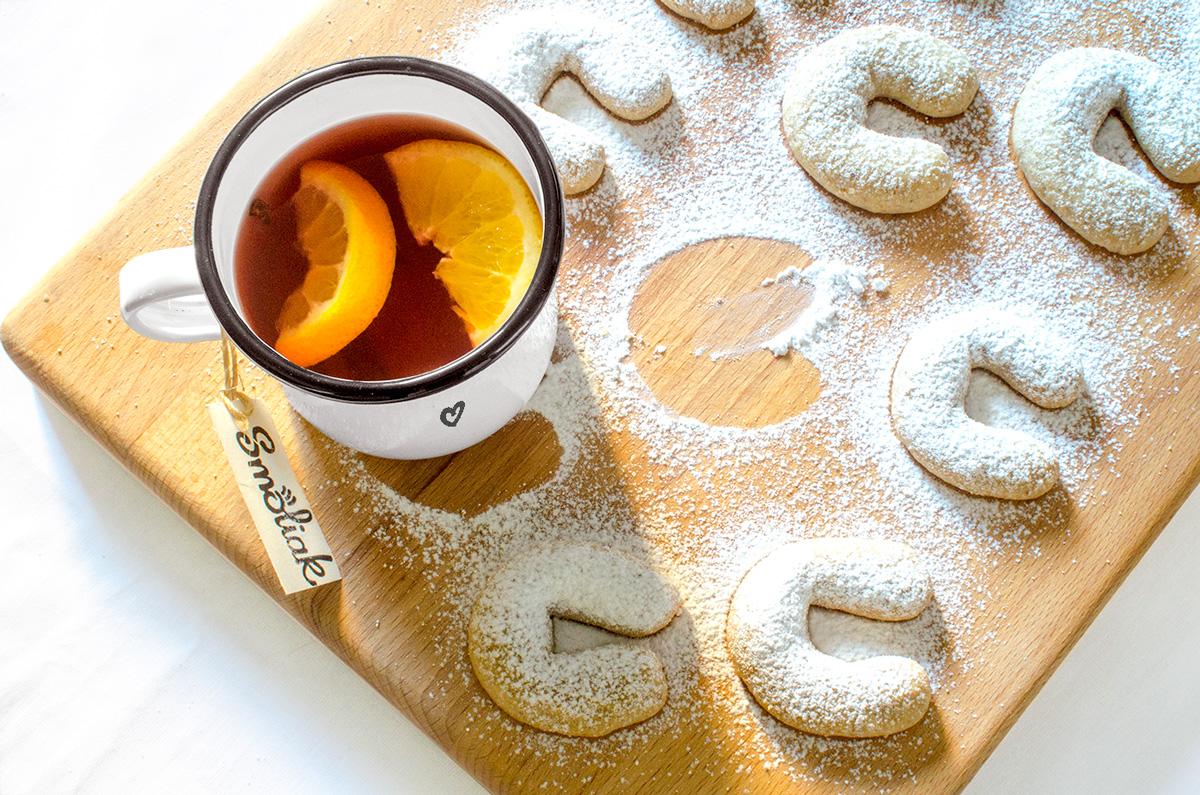 Vanilkové rohlíky so štipkou škorice | Recept